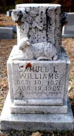 WILLIAMS, SAMUEL L - Ashley County, Arkansas   SAMUEL L WILLIAMS - Arkansas Gravestone Photos