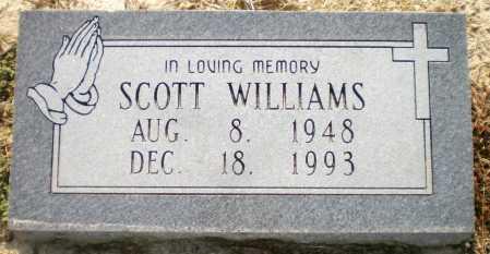 WILLIAMS, SCOTT - Ashley County, Arkansas | SCOTT WILLIAMS - Arkansas Gravestone Photos