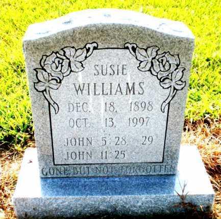 WILLIAMS, SUSIE - Ashley County, Arkansas   SUSIE WILLIAMS - Arkansas Gravestone Photos