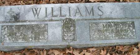 WILLIAMS, MAUDE - Ashley County, Arkansas   MAUDE WILLIAMS - Arkansas Gravestone Photos