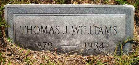 WILLIAMS, THOMAS J - Ashley County, Arkansas   THOMAS J WILLIAMS - Arkansas Gravestone Photos