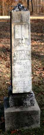 WILLIAMS, TURNER - Ashley County, Arkansas | TURNER WILLIAMS - Arkansas Gravestone Photos