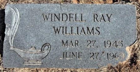 WILLIAMS, WINDELL RAY - Ashley County, Arkansas   WINDELL RAY WILLIAMS - Arkansas Gravestone Photos