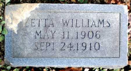 WILLIAMS, ZETTA - Ashley County, Arkansas | ZETTA WILLIAMS - Arkansas Gravestone Photos