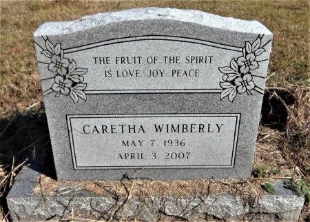 WIMBERLY, CARETHA - Ashley County, Arkansas   CARETHA WIMBERLY - Arkansas Gravestone Photos