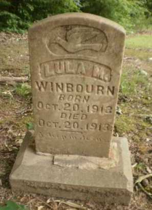 WINBOURN, LULA M - Ashley County, Arkansas | LULA M WINBOURN - Arkansas Gravestone Photos
