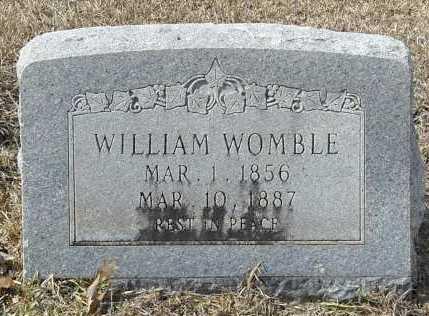 WOMBLE, WILLIAM - Ashley County, Arkansas | WILLIAM WOMBLE - Arkansas Gravestone Photos