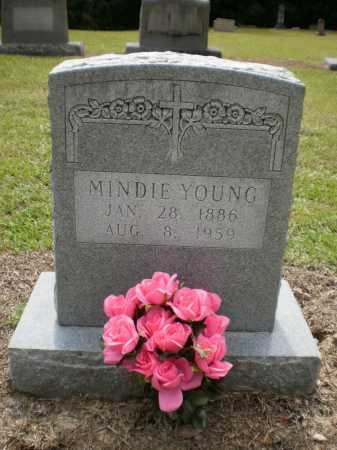 YOUNG, MINDIE - Ashley County, Arkansas | MINDIE YOUNG - Arkansas Gravestone Photos