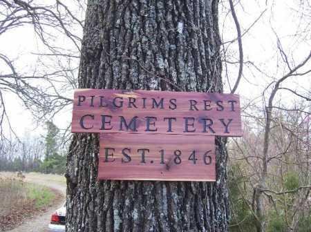 *, PILGRIMS REST CEMETERY ENTRANCE - Baxter County, Arkansas   PILGRIMS REST CEMETERY ENTRANCE * - Arkansas Gravestone Photos
