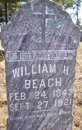 BEACH, WILLIAM H - Baxter County, Arkansas   WILLIAM H BEACH - Arkansas Gravestone Photos
