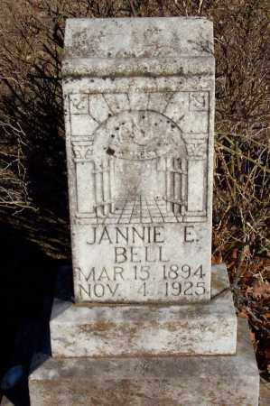 BELL, JANNIE E - Baxter County, Arkansas | JANNIE E BELL - Arkansas Gravestone Photos