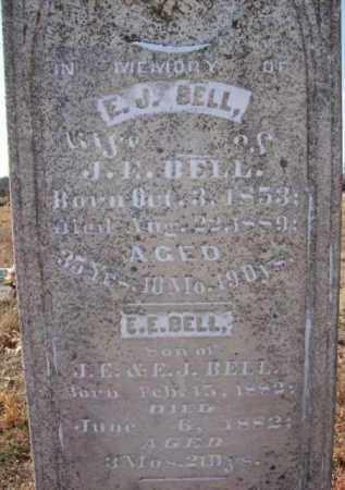 BELL, E J - Baxter County, Arkansas   E J BELL - Arkansas Gravestone Photos