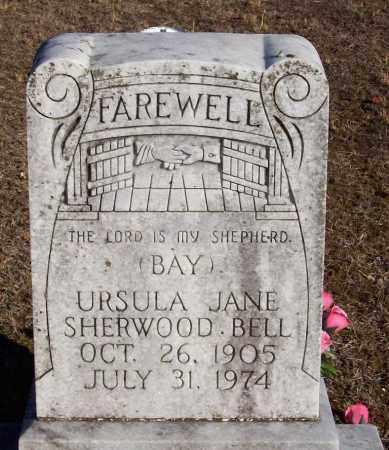 BELL, URSULA JANE - Baxter County, Arkansas   URSULA JANE BELL - Arkansas Gravestone Photos