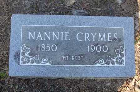 CRYMES, NANNIE - Baxter County, Arkansas | NANNIE CRYMES - Arkansas Gravestone Photos