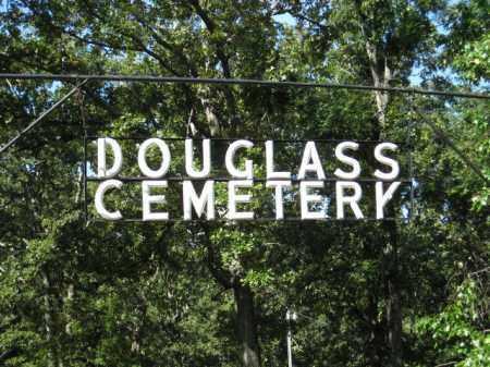 *, DOUGLAS CEMETERY SIGN - Baxter County, Arkansas | DOUGLAS CEMETERY SIGN * - Arkansas Gravestone Photos