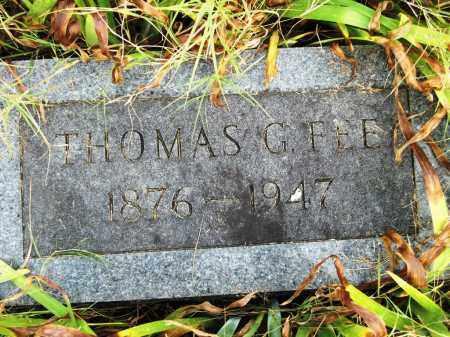 FEE, THOMAS GUNTER - Baxter County, Arkansas | THOMAS GUNTER FEE - Arkansas Gravestone Photos