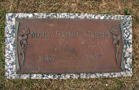 GLENN, MARY ETHEL - Baxter County, Arkansas   MARY ETHEL GLENN - Arkansas Gravestone Photos