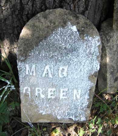 GREEN, MAGA - Baxter County, Arkansas | MAGA GREEN - Arkansas Gravestone Photos