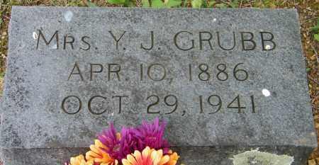 GRUBB, Y J, MRS. - Baxter County, Arkansas | Y J, MRS. GRUBB - Arkansas Gravestone Photos