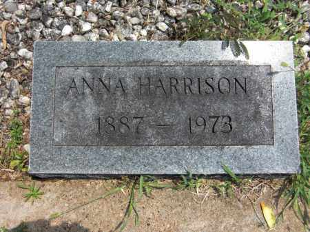 HARRISON, ANNA - Baxter County, Arkansas | ANNA HARRISON - Arkansas Gravestone Photos