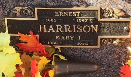 HARRISON, ERNEST - Baxter County, Arkansas | ERNEST HARRISON - Arkansas Gravestone Photos