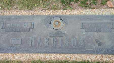 HARRISON, GEORGE W. - Baxter County, Arkansas | GEORGE W. HARRISON - Arkansas Gravestone Photos
