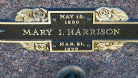 HARRISON, MARY I. - Baxter County, Arkansas | MARY I. HARRISON - Arkansas Gravestone Photos