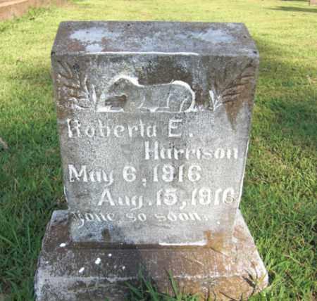 HARRISON, ROBERTA E. - Baxter County, Arkansas   ROBERTA E. HARRISON - Arkansas Gravestone Photos