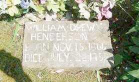 HENDERSON, WILLIAM DREW - Baxter County, Arkansas   WILLIAM DREW HENDERSON - Arkansas Gravestone Photos