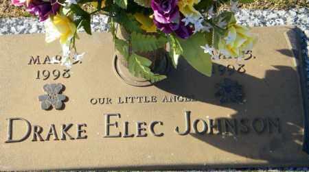 JOHNSON, DRAKE ELEC - Baxter County, Arkansas | DRAKE ELEC JOHNSON - Arkansas Gravestone Photos