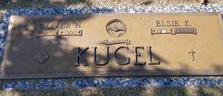 KUGEL, OLIVER H - Baxter County, Arkansas | OLIVER H KUGEL - Arkansas Gravestone Photos