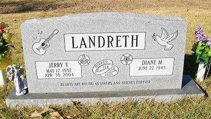 "LANDRETH, SR., JERRY T. ""J.T."" - Baxter County, Arkansas | JERRY T. ""J.T."" LANDRETH, SR. - Arkansas Gravestone Photos"