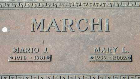 MARCHI, MARIO J - Baxter County, Arkansas | MARIO J MARCHI - Arkansas Gravestone Photos
