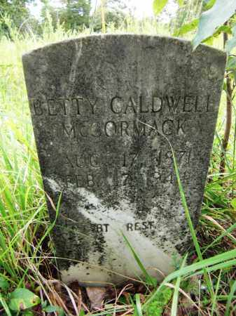 MCCORMACK, BETTY CALDWELL - Baxter County, Arkansas | BETTY CALDWELL MCCORMACK - Arkansas Gravestone Photos