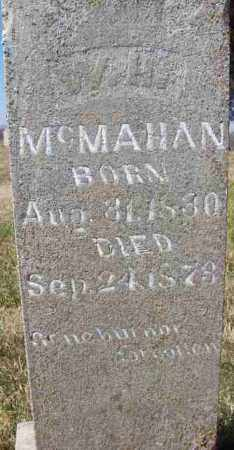 MCMAHAN, W H (ONE OF TWO OLD STONES) - Baxter County, Arkansas | W H (ONE OF TWO OLD STONES) MCMAHAN - Arkansas Gravestone Photos