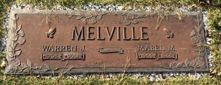 MELVILLE, MABEL - Baxter County, Arkansas | MABEL MELVILLE - Arkansas Gravestone Photos