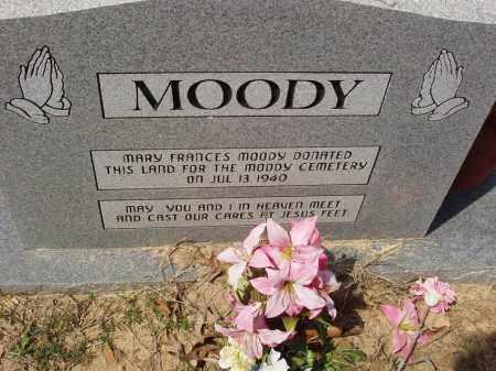 *, MOODY CEMETERY MEMORIAL - Baxter County, Arkansas   MOODY CEMETERY MEMORIAL * - Arkansas Gravestone Photos