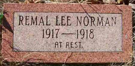 NORMAN, REMAL LEE - Baxter County, Arkansas | REMAL LEE NORMAN - Arkansas Gravestone Photos
