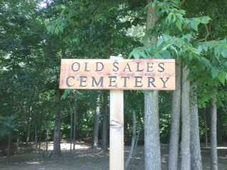 *, OLD SALES CEMETERY SIGN - Baxter County, Arkansas | OLD SALES CEMETERY SIGN * - Arkansas Gravestone Photos