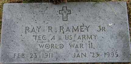 RAMEY, JR (VETERAN WWII), RAY R - Baxter County, Arkansas | RAY R RAMEY, JR (VETERAN WWII) - Arkansas Gravestone Photos
