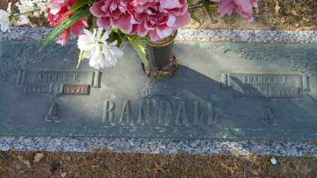 RANDALL, FRANCES J. - Baxter County, Arkansas | FRANCES J. RANDALL - Arkansas Gravestone Photos