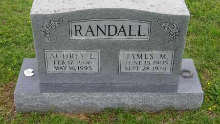 RANDALL, JAMES M - Baxter County, Arkansas | JAMES M RANDALL - Arkansas Gravestone Photos
