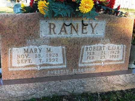 RANEY, MARY M. - Baxter County, Arkansas | MARY M. RANEY - Arkansas Gravestone Photos