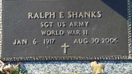 SHANKS (VETERAN WWII), RALPH E - Baxter County, Arkansas | RALPH E SHANKS (VETERAN WWII) - Arkansas Gravestone Photos