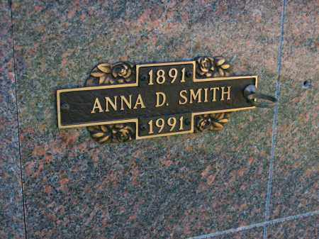 SMITH, ANNA D. - Baxter County, Arkansas | ANNA D. SMITH - Arkansas Gravestone Photos