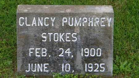 STOKES, GLANCY PUMPHREY - Baxter County, Arkansas | GLANCY PUMPHREY STOKES - Arkansas Gravestone Photos