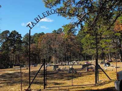 *, TABLEROCK CEMETERY GATE - Baxter County, Arkansas   TABLEROCK CEMETERY GATE * - Arkansas Gravestone Photos