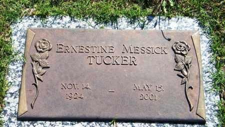 TUCKER, ERNESTINE - Baxter County, Arkansas | ERNESTINE TUCKER - Arkansas Gravestone Photos