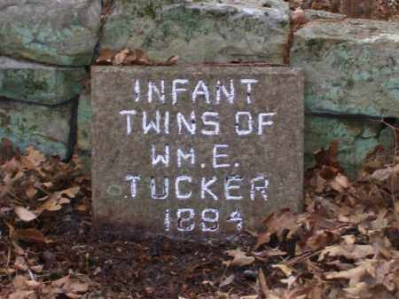 TUCKER, INFANT TWINS - Baxter County, Arkansas   INFANT TWINS TUCKER - Arkansas Gravestone Photos
