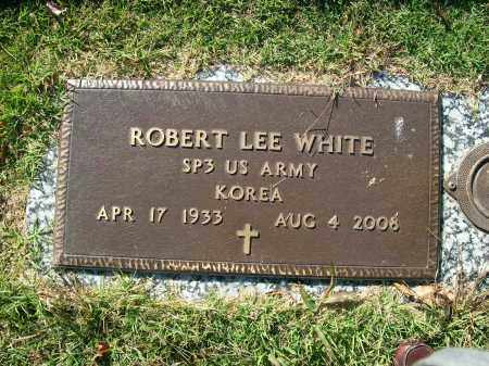 WHITE (VETERAN KOR), ROBERT LEE - Baxter County, Arkansas | ROBERT LEE WHITE (VETERAN KOR) - Arkansas Gravestone Photos